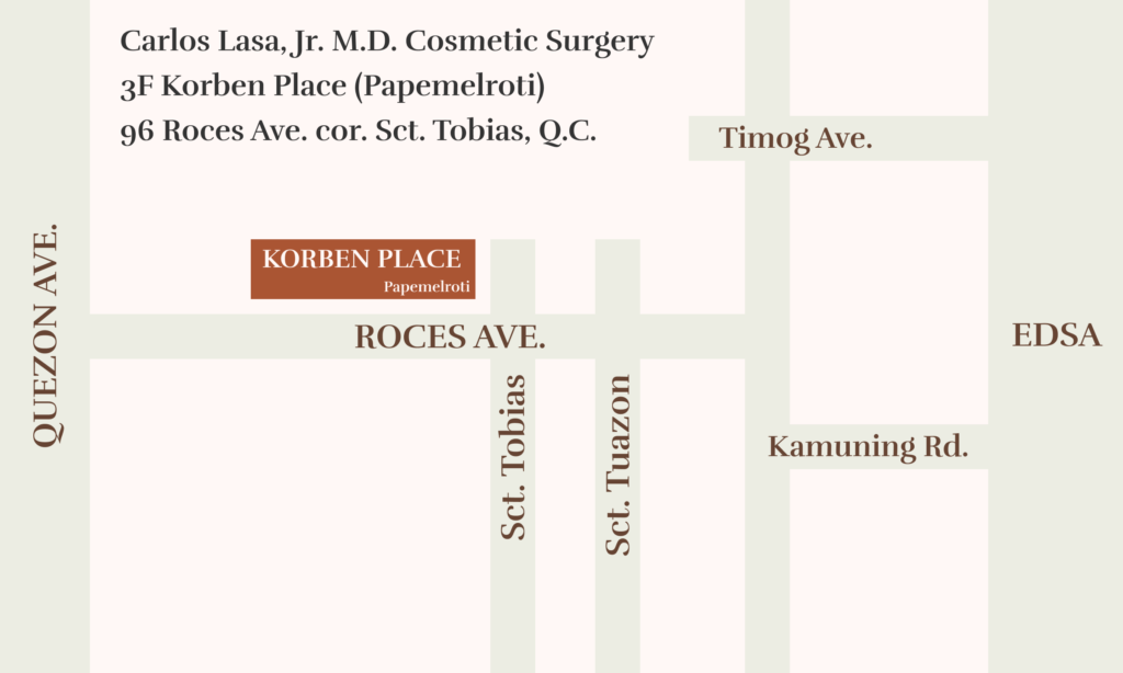 Location map to clinic.